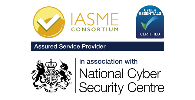 iasme, cyber essentials certified, national cyber security centre